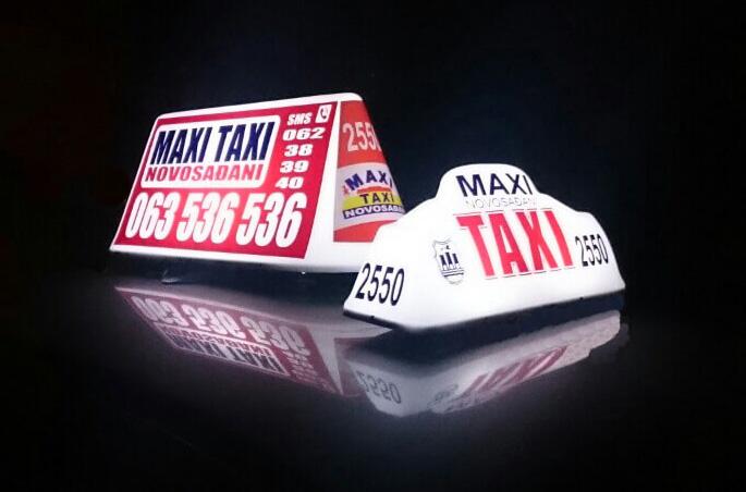 Taxi Maxi table