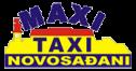 logo taxi novi sad - maxi novosadjani